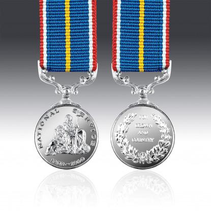 National Service Miniature Medal