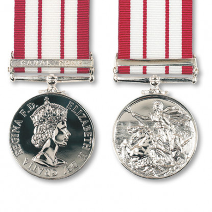 Naval General Service & Canal Zone Clasp