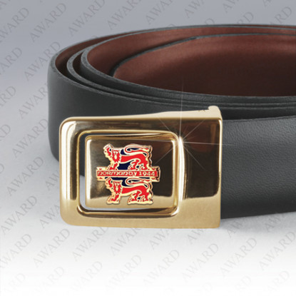 Reversible Leather Normandy Campaign Belt