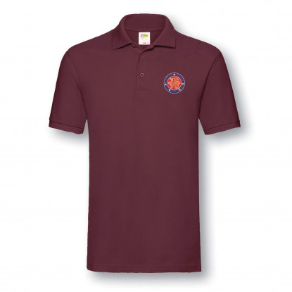 NORMANDY 75 BURGUNDY POLO SHIRT