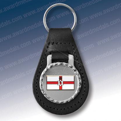 Ulster Flag Key Fob