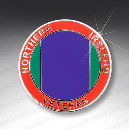 Northern Ireland Veterans Lapel Badge