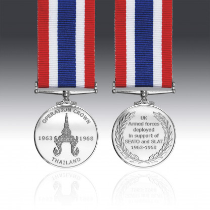The Operation Crown Commemorative Miniature Medal 1963-1968