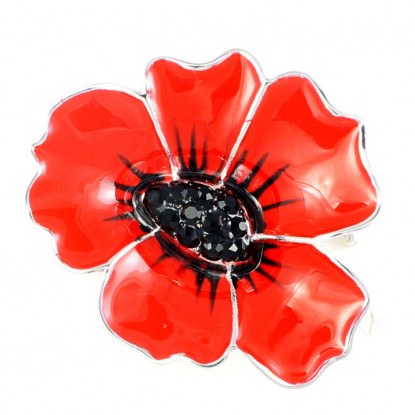 Large Poppy Pin