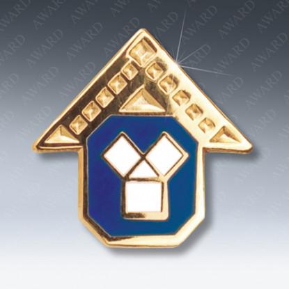 Past Masters Masonic Lapel Pin