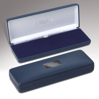 Personalised Blue Medal Case