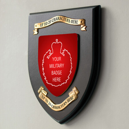 MILITARY SHIELD PERSONALISED