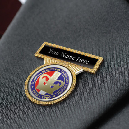 Personalised Lapel Badge