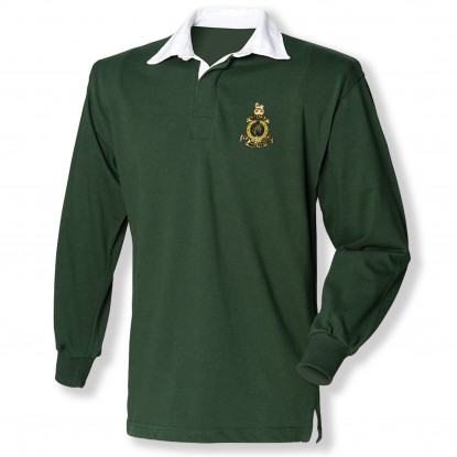 Rugby Shirt - Bottle Green -