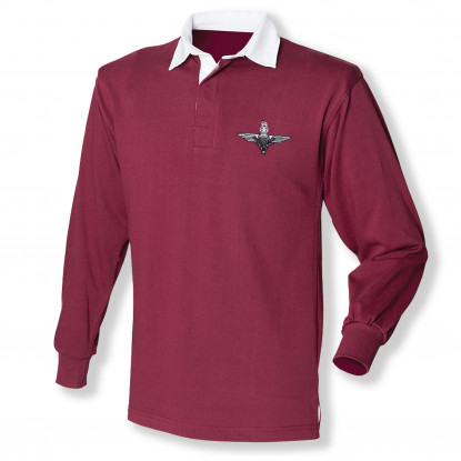 Rugby Shirt - Burgundy -
