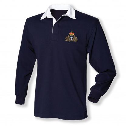 Rugby Shirt - Navy Blue -