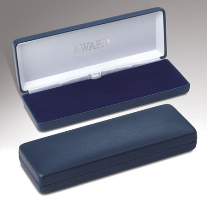 Plain Blue Medal Case