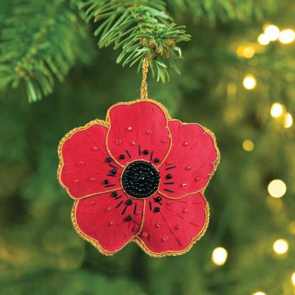 Poppy Christmas Decoration
