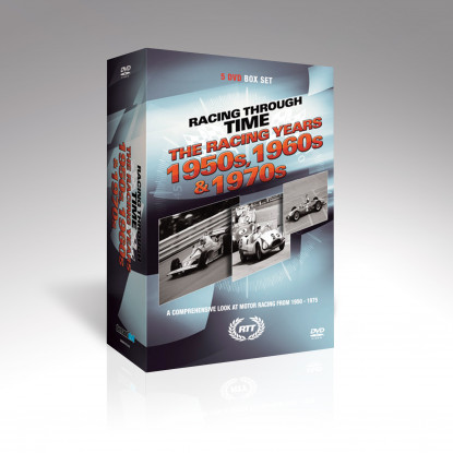 Racing Through Time - Racing Years 50s to 70s [5DVDs]