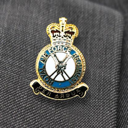 RAF Regiment Lapel Pin