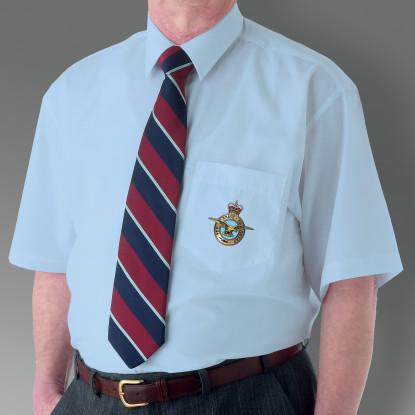Light Blue Military Short Sleeve Shirt