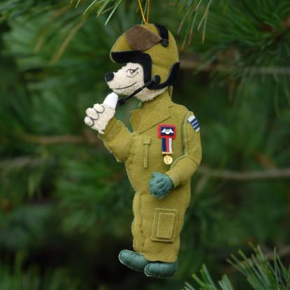 RAF Bear Christmas Decoration
