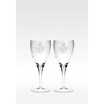 Set of Two Personalised Wine Glasses