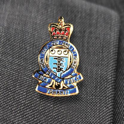 RAOC Lapel Royal Army Ordnance Corps Military Badge
