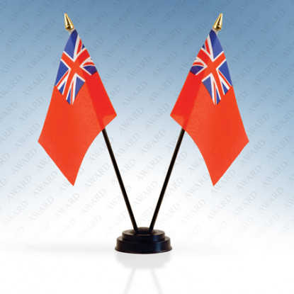 Red Ensign Double Table Flag