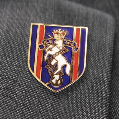 REME Shield Lapel Badge