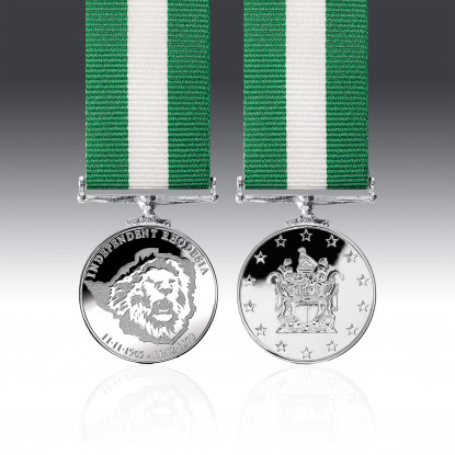 Rhodesia Independence Miniature Medal