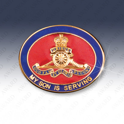 Royal Artillery Son Lapel Badge