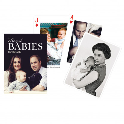 Royal Babies Playing Cards