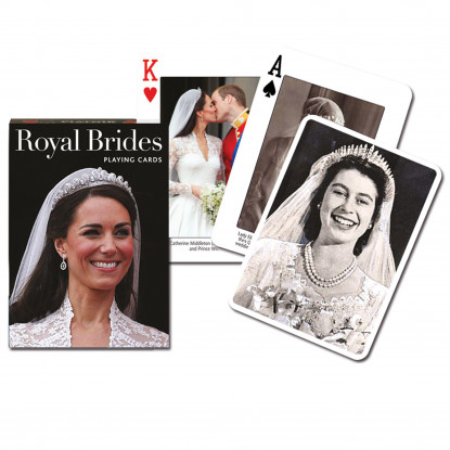 Royal Brides Playing Cards