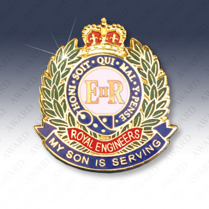 Royal Engineers Son Lapel Badge