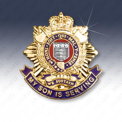 Royal Logistic Corps Son Lapel Badge