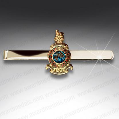 Royal Marines Tie Slide