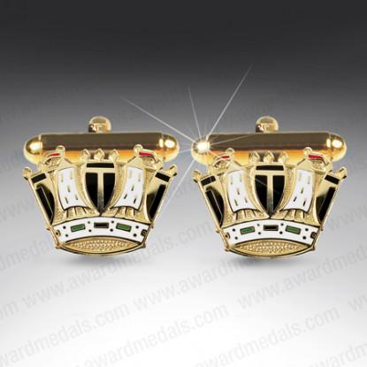 Royal Navy Crown Cufflinks