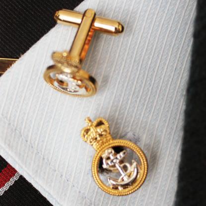 Royal Navy Petty Officer Cufflinks