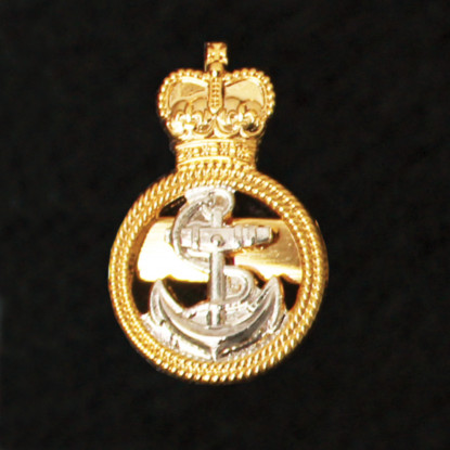 Royal Navy Petty Officer Lapel Badge