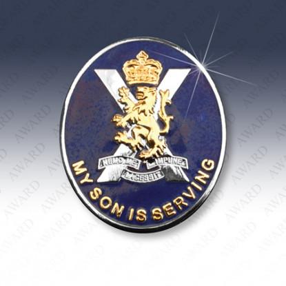 Royal Regiment of Scotland Son Lapel Badge