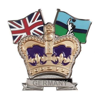 Royal Signals Crown & Country Lapel Badge