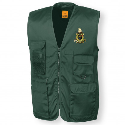 Personalised Green Safari Waistcoat