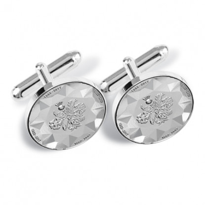 Sapphire Jubilee Medal Cufflinks