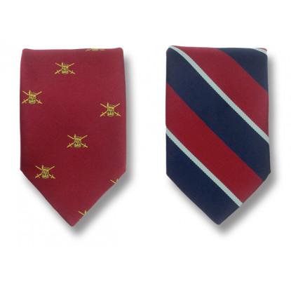 Silk Military Tie