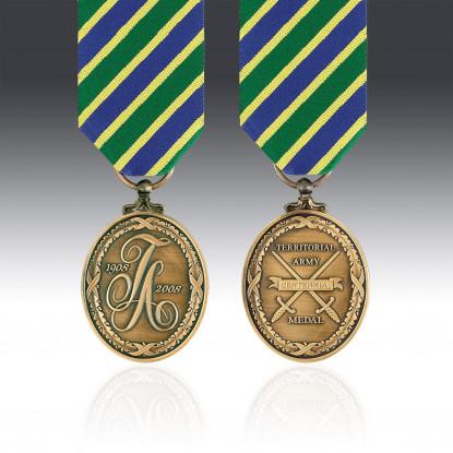 Territorial Army Centennial Miniature Medal