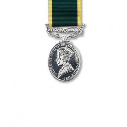 Territorial Efficiency Miniature Medal G.VI.R.