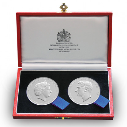 Commemorative George Cross & George Medal Set