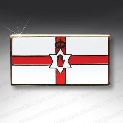 Ulster Flag Lapel Badge