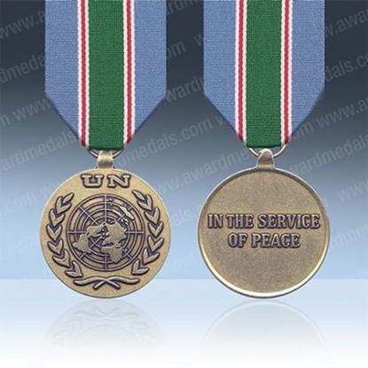 UN Afghanistan UNFIL Medal & OSGAP Clasp