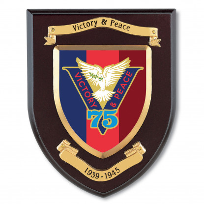 Victory & Peace 75 Shield