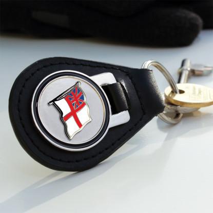 White Ensign Key Fob