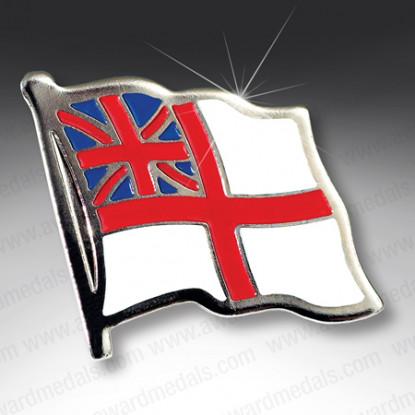 White Ensign Lapel Badge