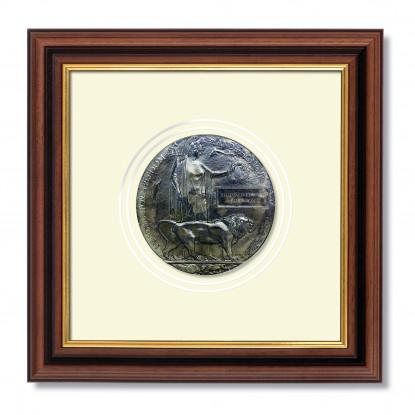 WW1 Memorial Plaque Framed