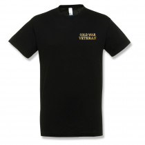 EMBROIDERED BLACK T-SHIRT